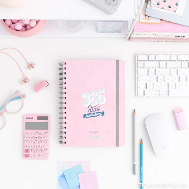 ¡No te quedes sin tu Agenda Mr Wonderful 2019-2020!