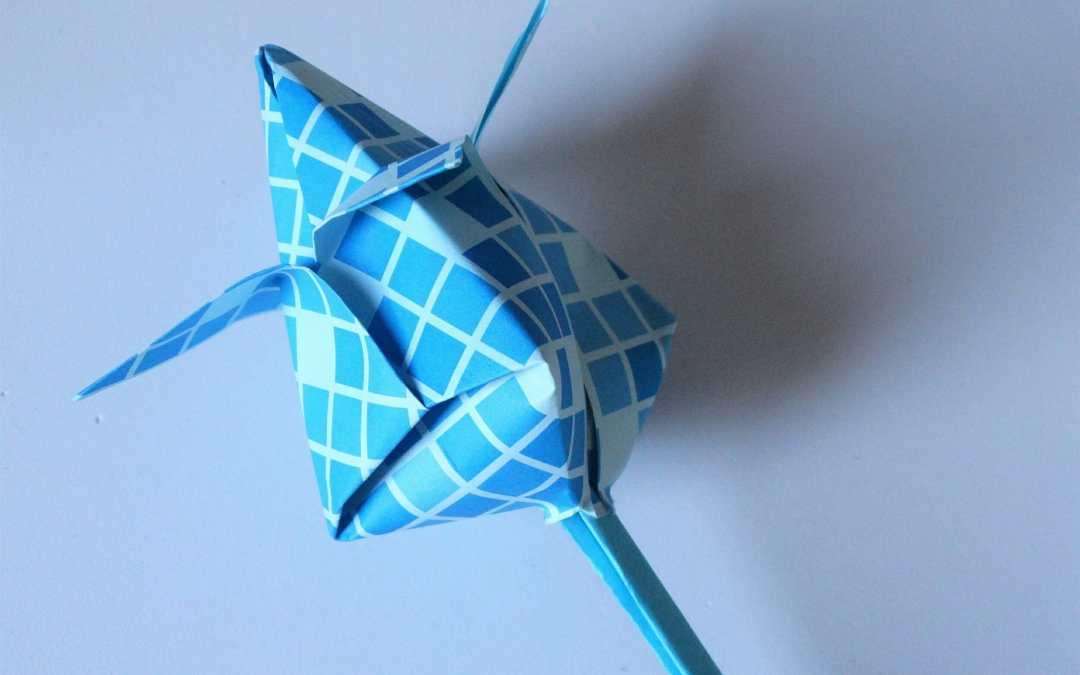 Flor de papel - Papermania.es