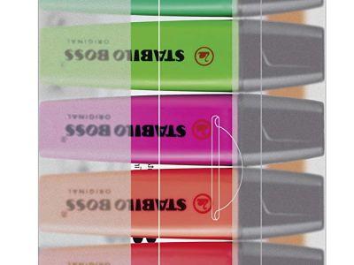 Subrayadores STABILO fluorescentes
