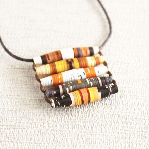 Food Magazine Necklace Gift for Cooking Lover