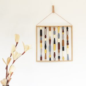 earthy wall art contemporary organic wall hanging