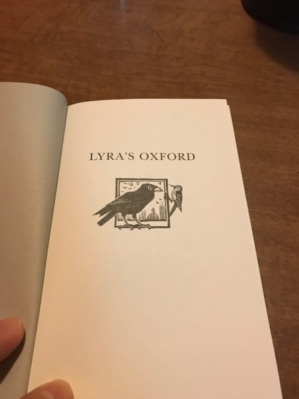 Lyra's Oxford Inside Cover - Jon Lawrence