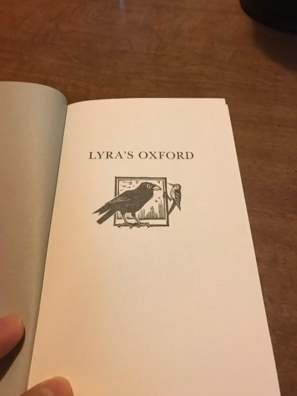 Lyra's Oxford Inside Cover - Jon Lawrence