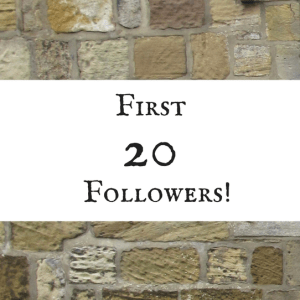 Thankful For My First 20 Followers!
