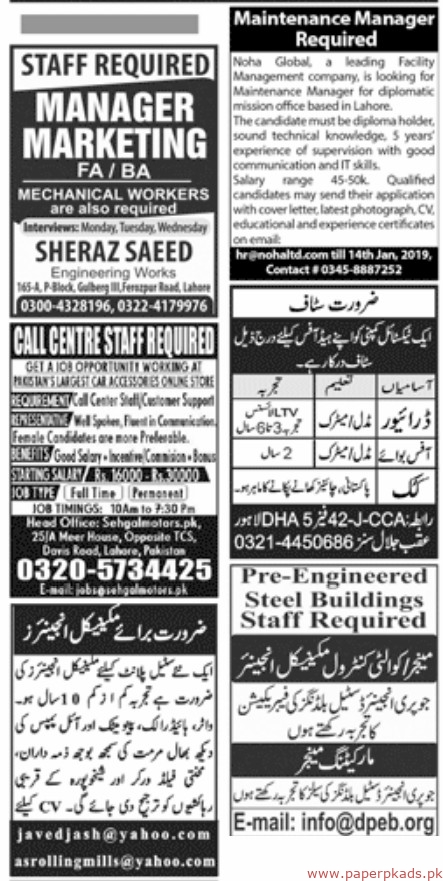 Jobs In Hamdard University Karachi 06 Jan 2019 - Inspirational