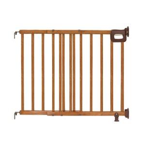 Deluxe Stairway Simple to Secure Wood Gate
