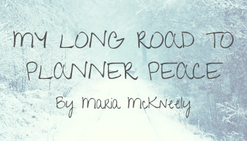 My Long Road to Planner Peace