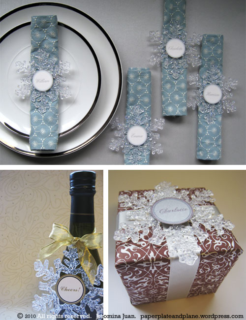 Holidays Christmas Paper Plate And Plane Page 2