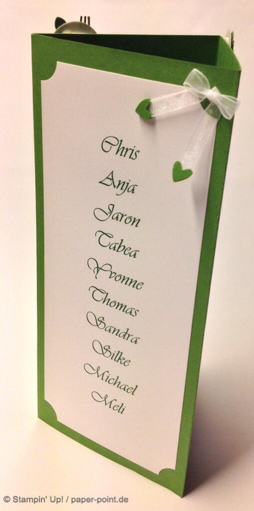 Tischdeko fr die Hochzeit  PaperPoint  Schnes aus Papier