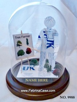 landcaper tree farmer business card sculpture