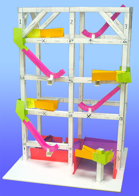 Paper Build Roller Coaster
