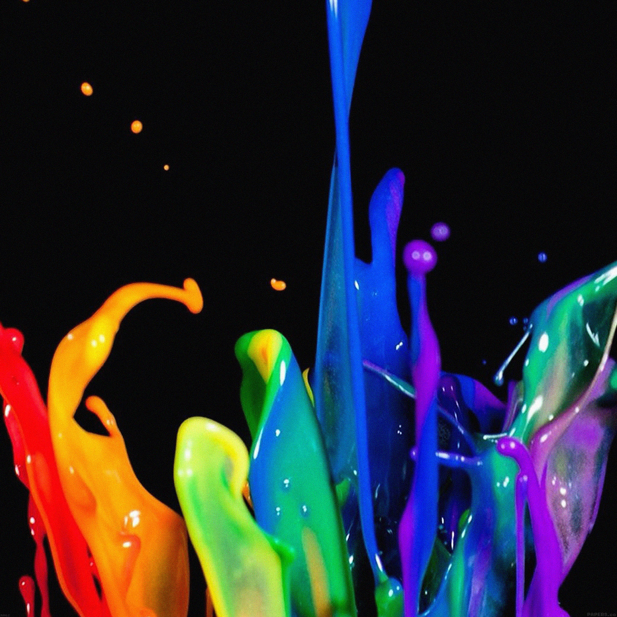 Full Hd Car Wallpapers 2014 Aa62 Rainbow Color Drops Art Papers Co