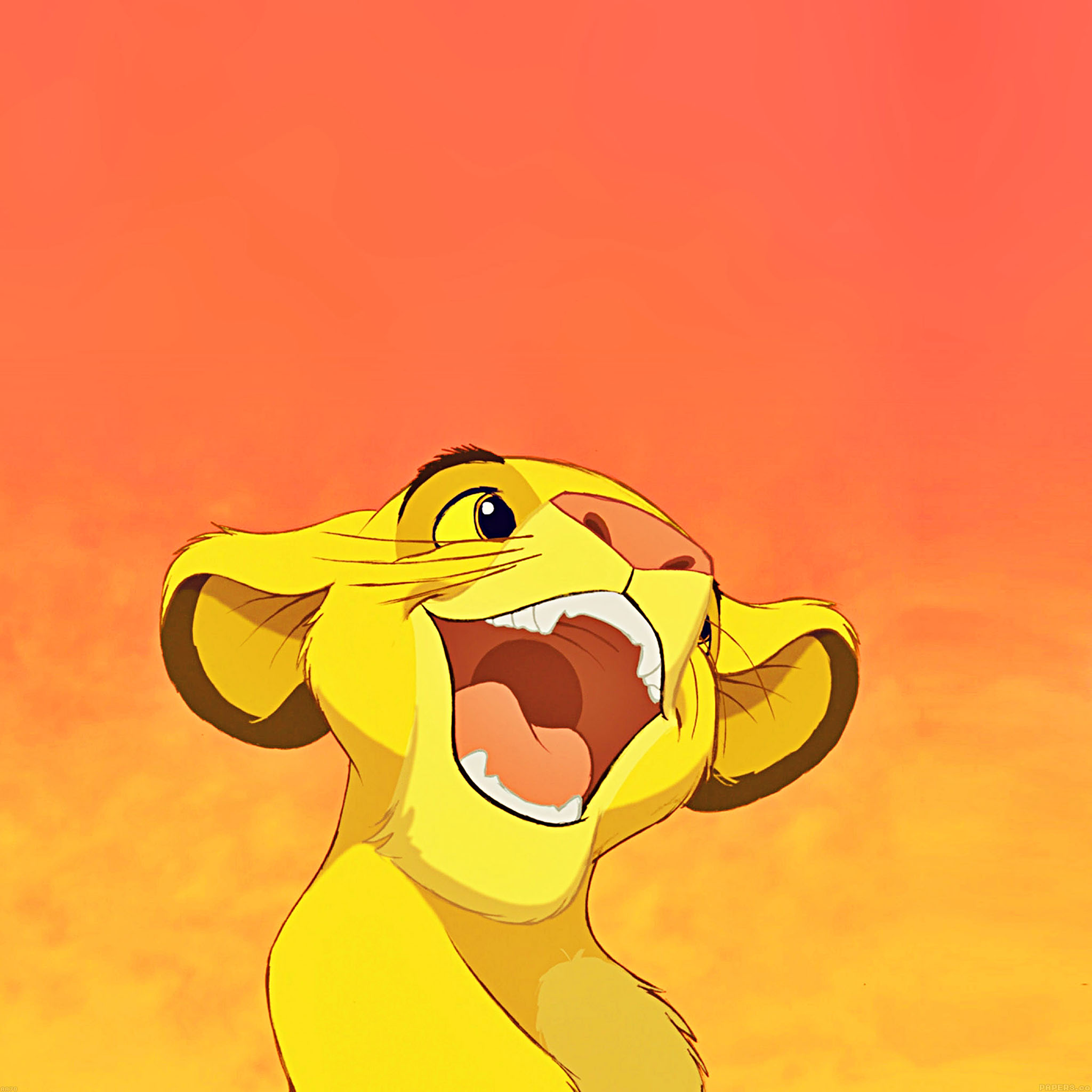 Sinon Cute Wallpaper Aa78 Wallpaper Disney Simba Lionking Smile Illust Papers Co