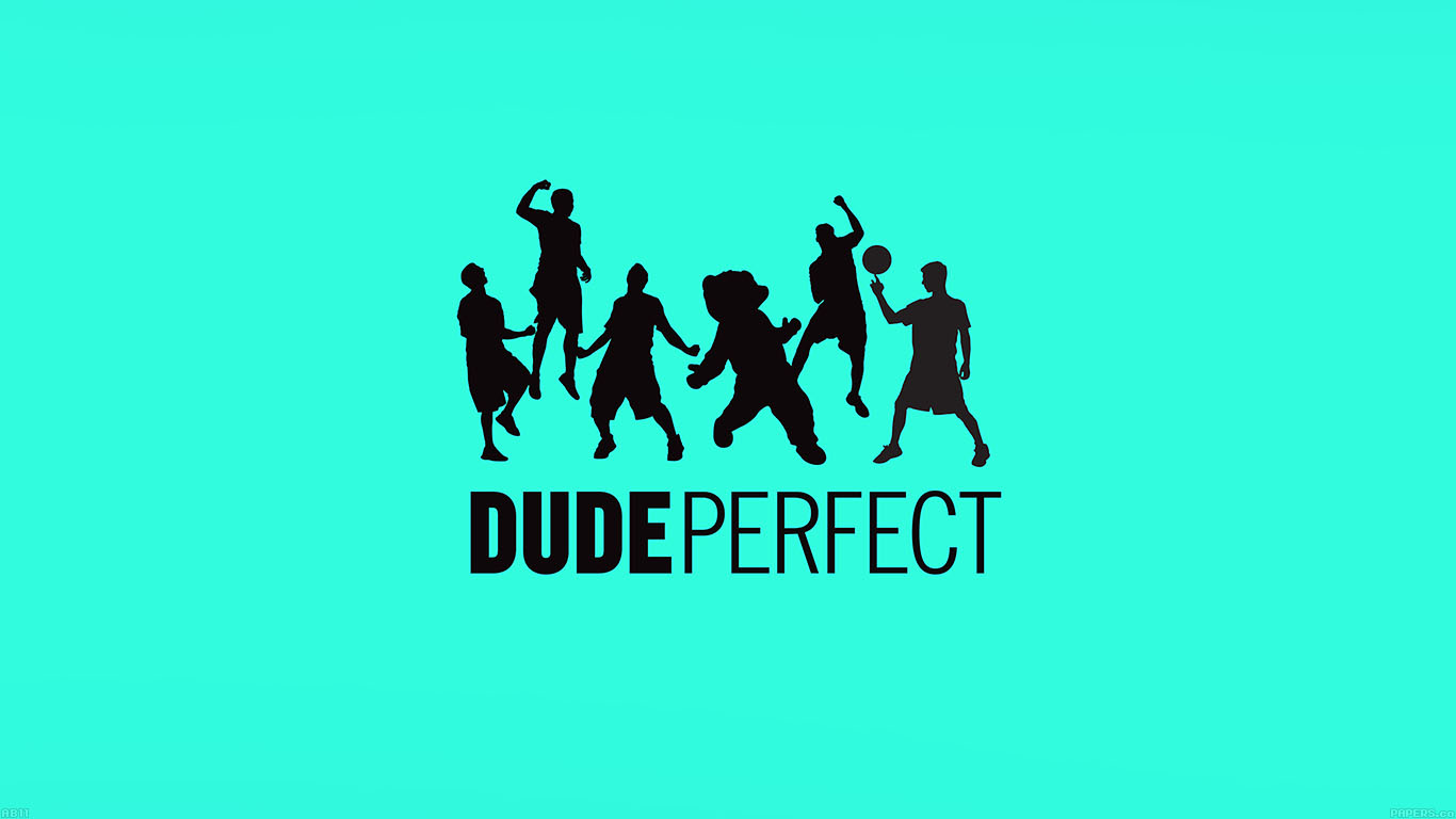 Blue Fall Wallpaper Ab11 Wallpaper Dude Perfect Logo Music Papers Co