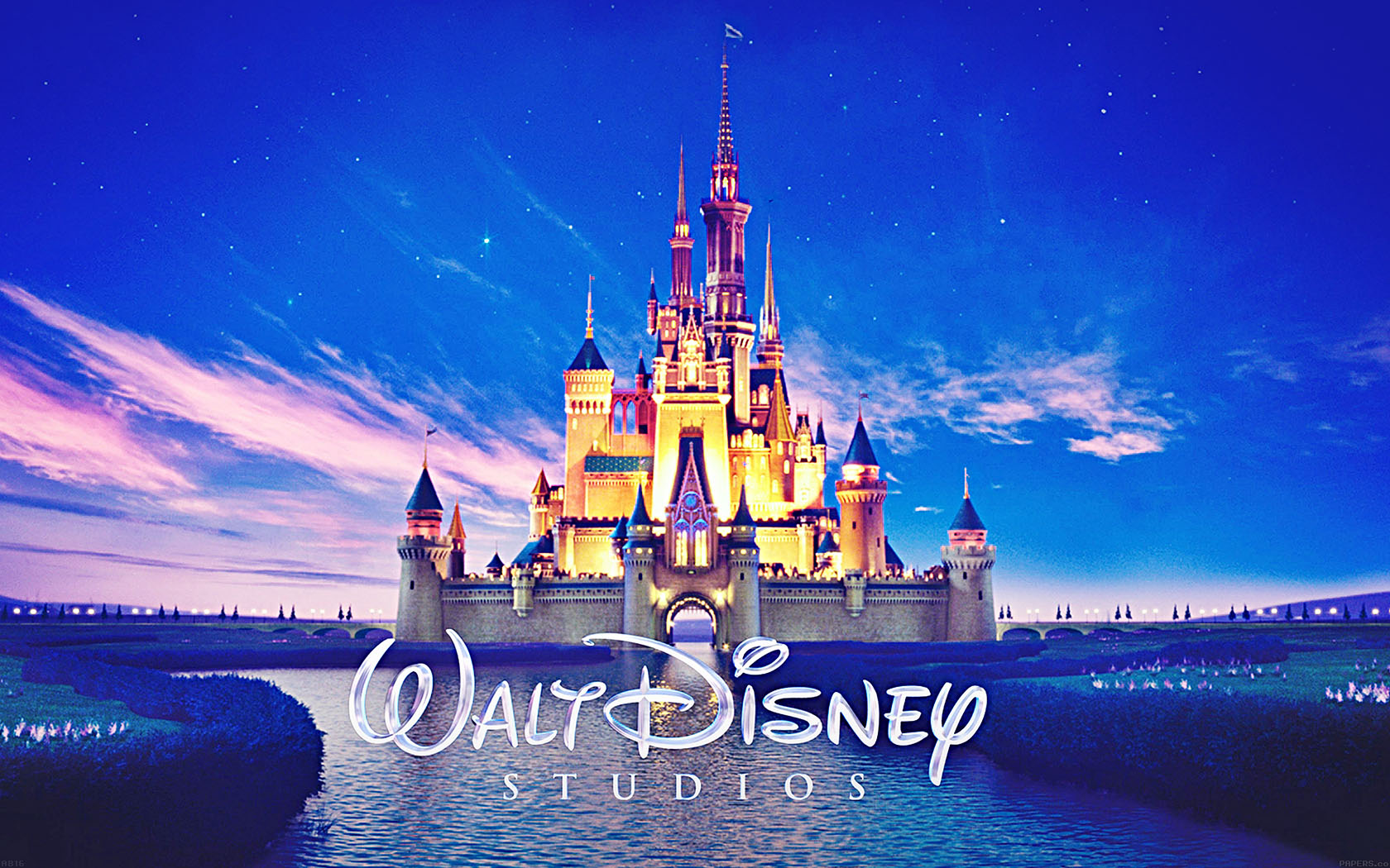 Wallpaper Macbook Air Fall Art Ab16 Wallpaper Walt Disney Studios Castle Illust Papers Co