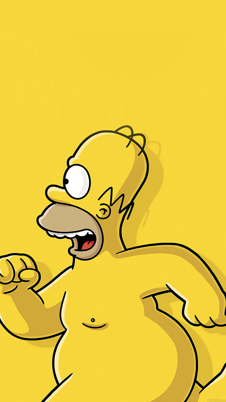 Baseball Wallpapers For Iphone 6 Ab22 Wallpaper Catch Homer If You Can Homer Simpsons