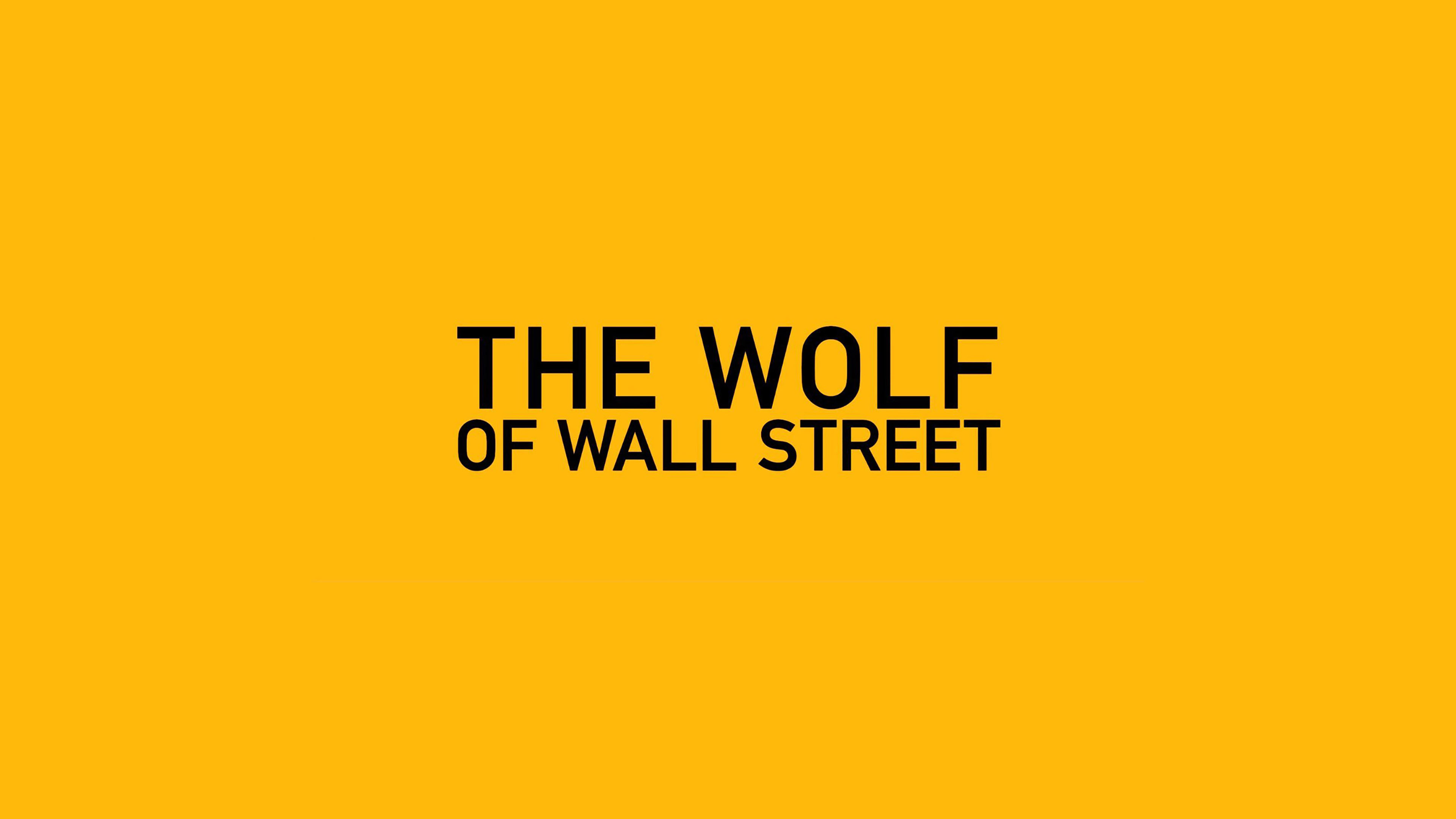 Wolf Of Wall Street Wallpaper Iphone Ab26 Wallpaper The Wolf Of Wallstreet Yellow Film Logo
