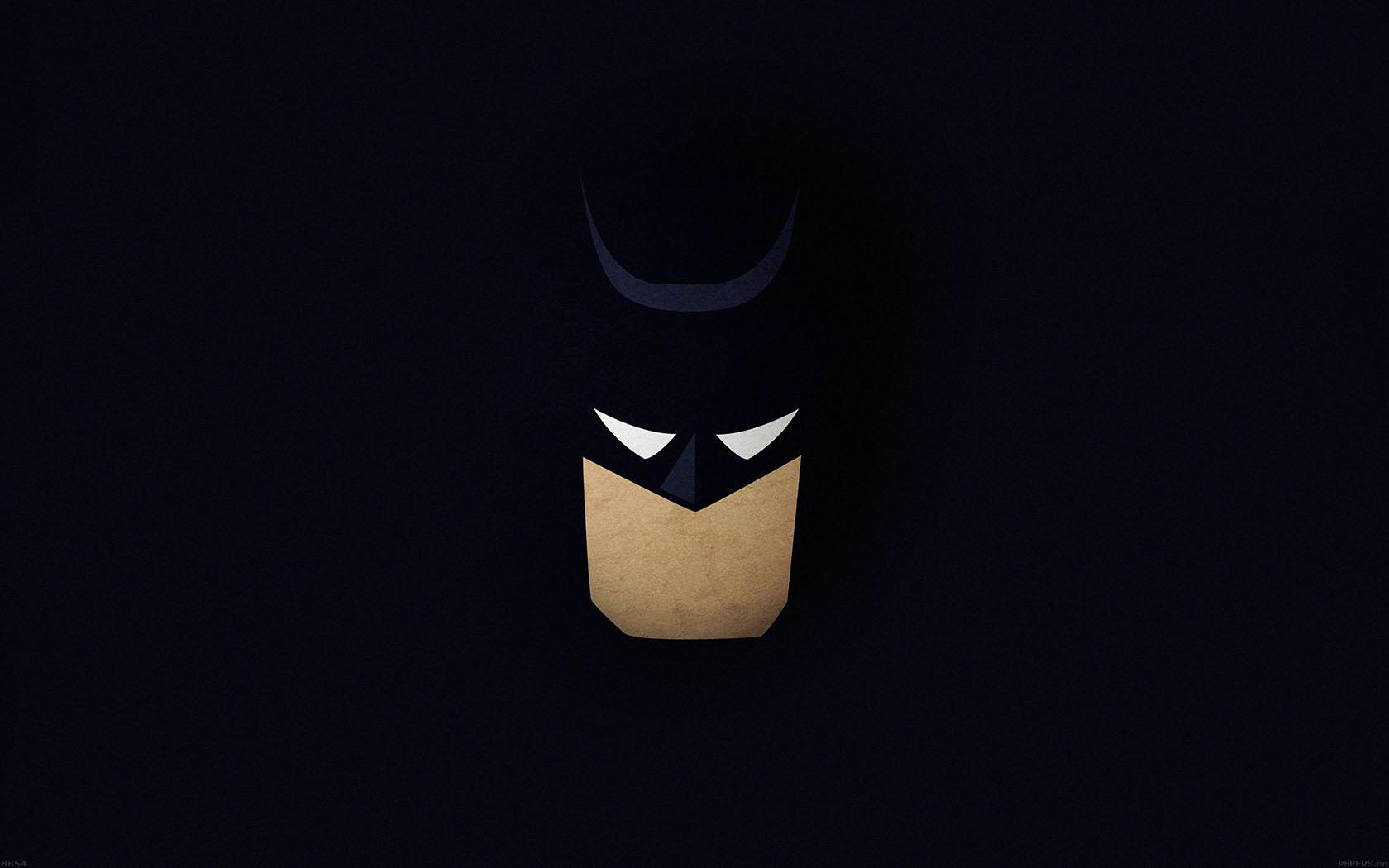 Iphone Fall Wallpaper Ab54 Wallpaper Batman Face Dark Minimal Papers Co