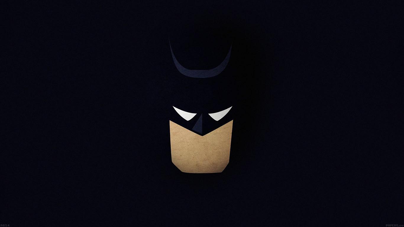 Macbook Wallpaper Fall Ab54 Wallpaper Batman Face Dark Minimal Papers Co