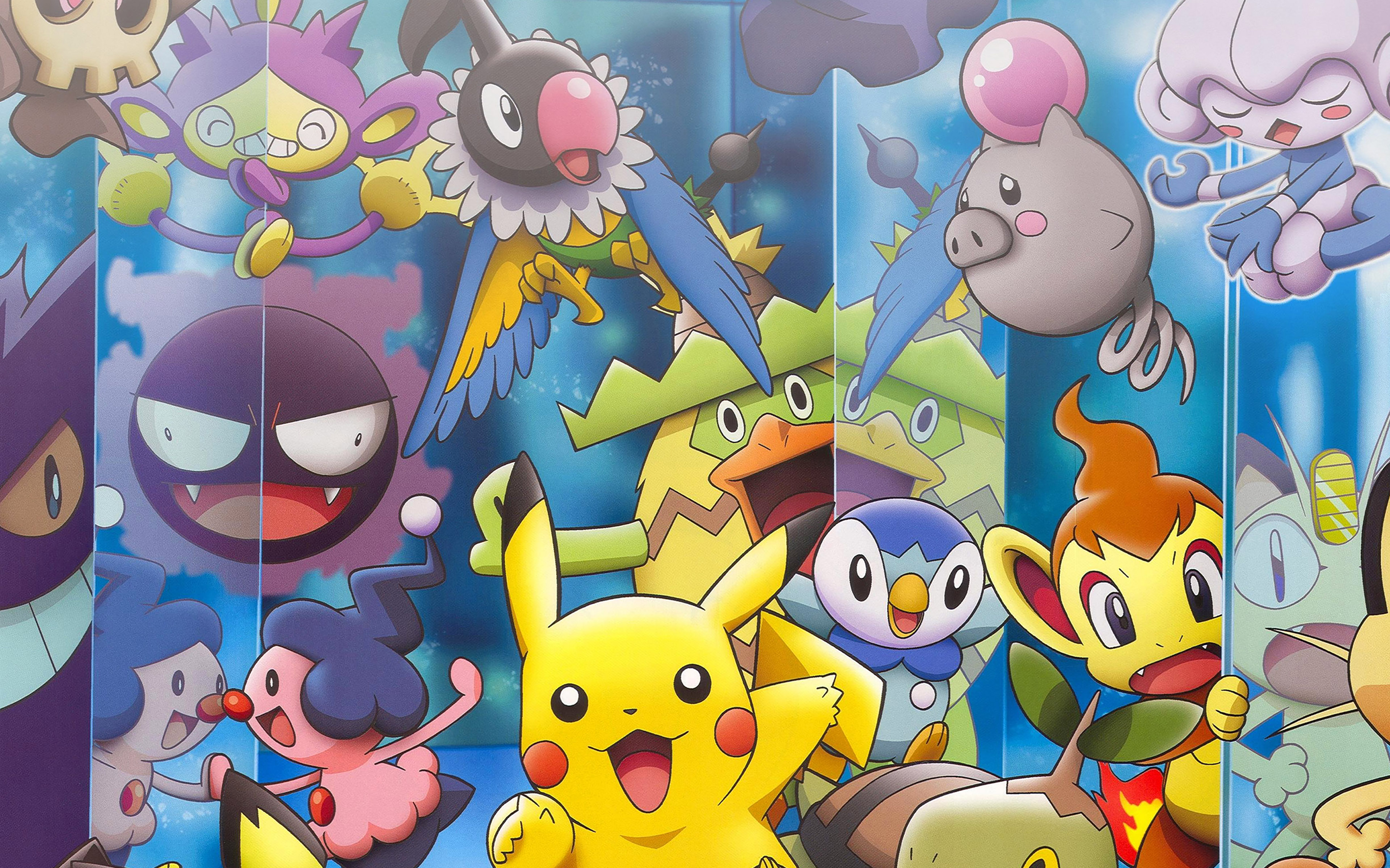 3840x1080 Wallpaper Classic Car Ab66 Wallpaper Pokemon Friends Anime Papers Co