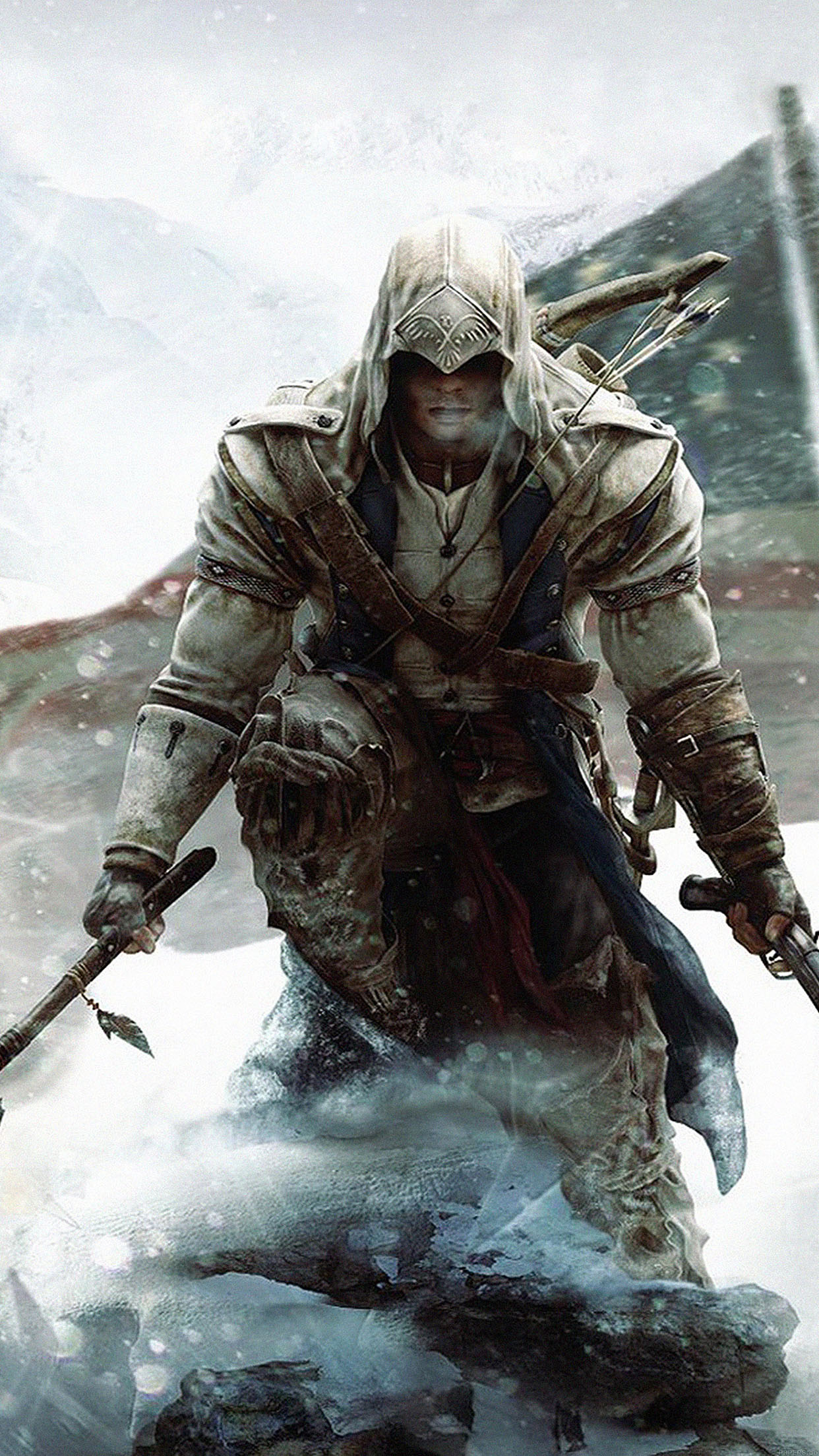 Hunter X Hunter Iphone 6 Wallpaper Ab84 Wallpaper Assasines Creed Unity Snow Game Papers Co