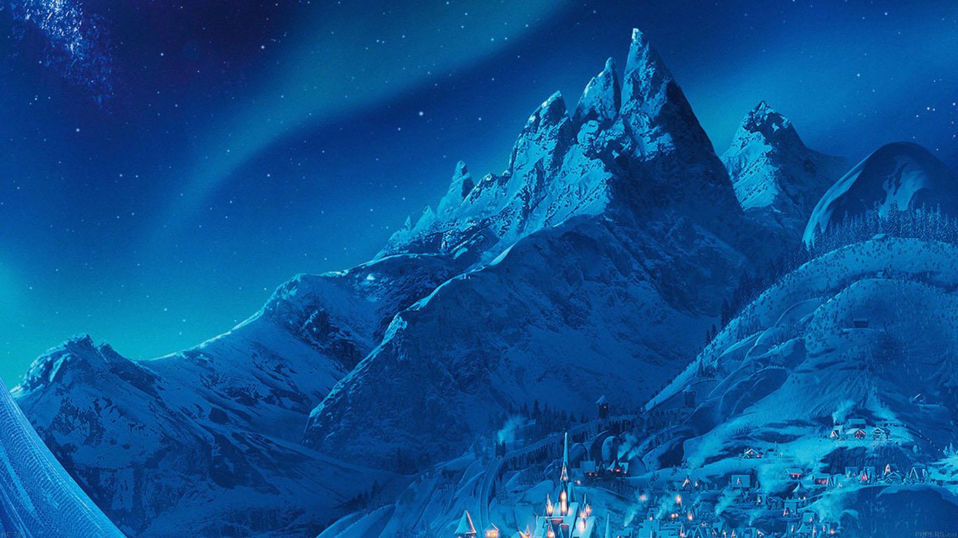Elsa Christmas Wallpaper