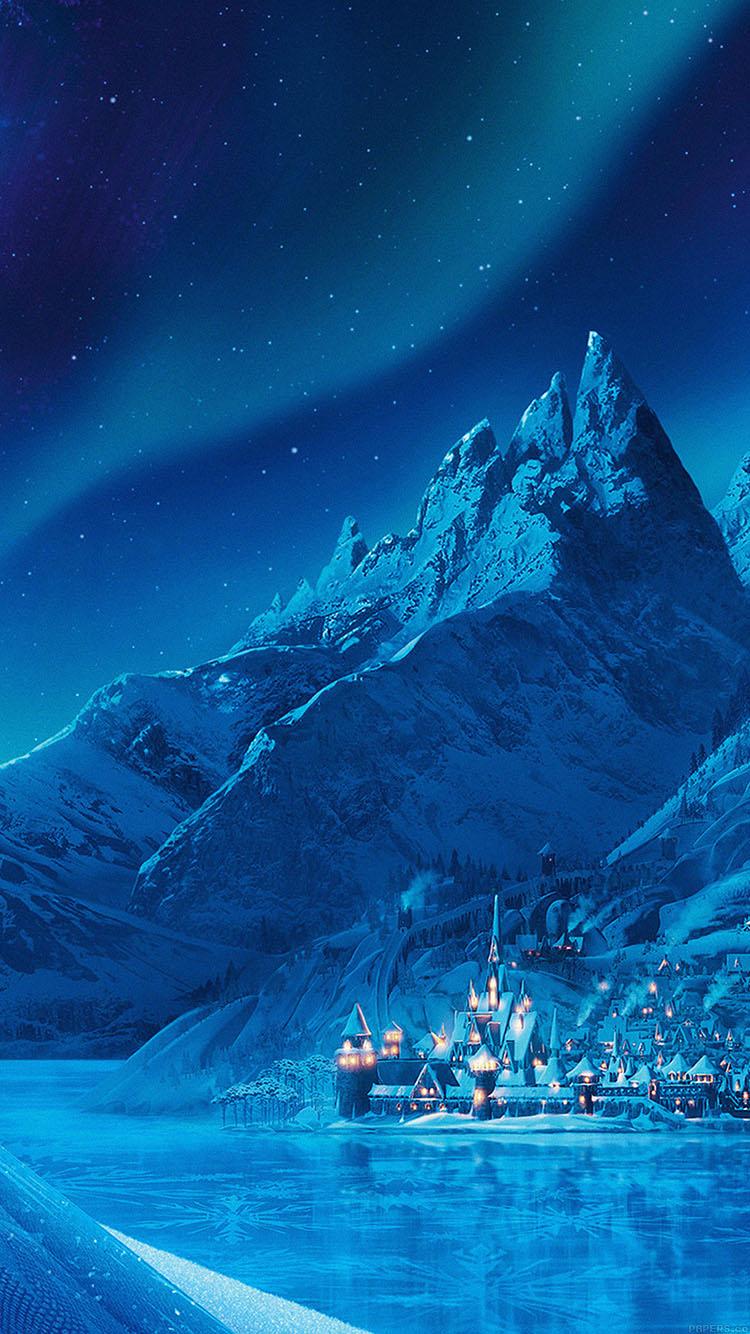 Fall Wallpaper Note 8 Ac70 Wallpaper Elsa Frozen Castle Queen Disney Illust Snow