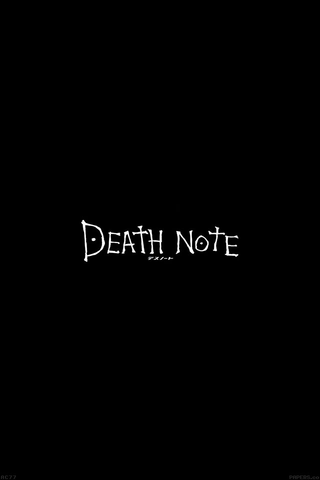 Cute Cartoon Hd Wallpapers For Android Ac77 Wallpaper Death Note Cartoon Illust Minimal Papers Co