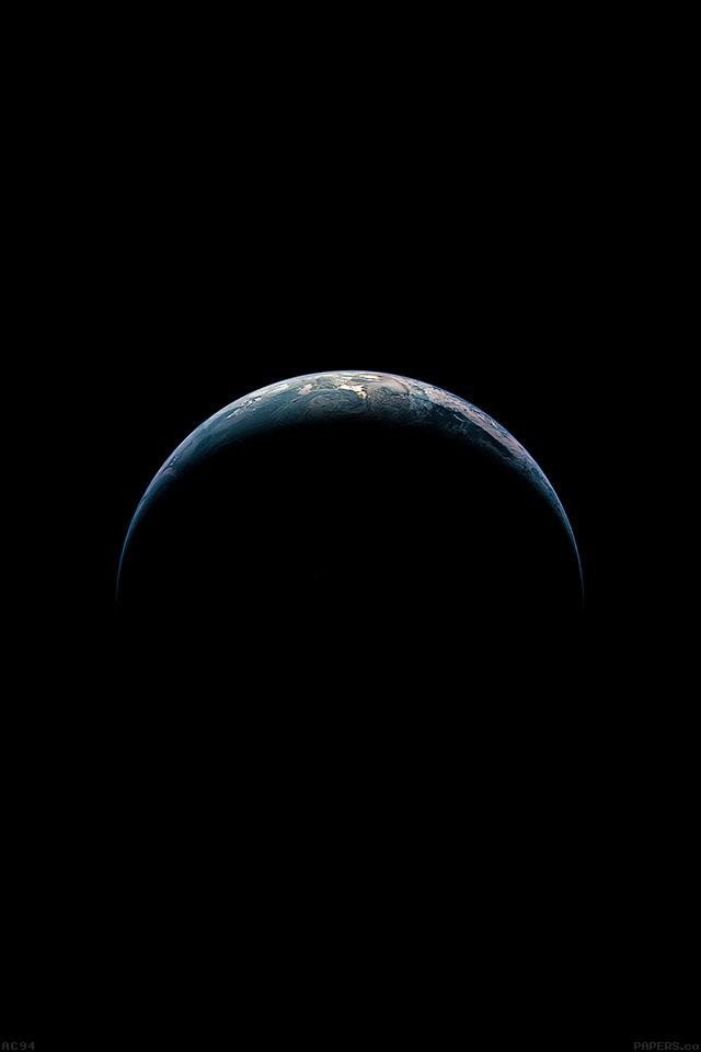 3d Retina Wallpaper Macbook Pro Ac94 Wallpaper Ios8 Apple Iphone6 Plus Earth From Sky