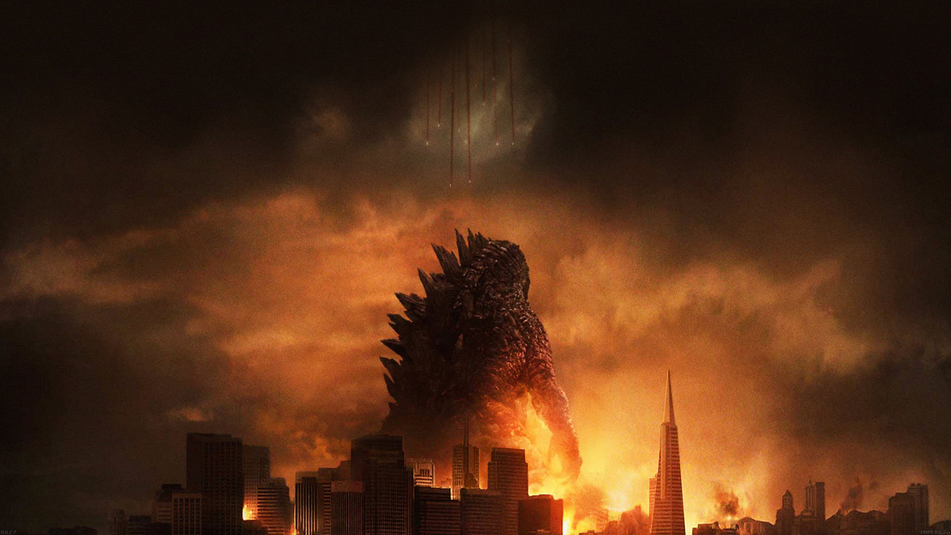Cute Iphone Christmas Wallpapers Ad27 Godzilla Poster Film Papers Co