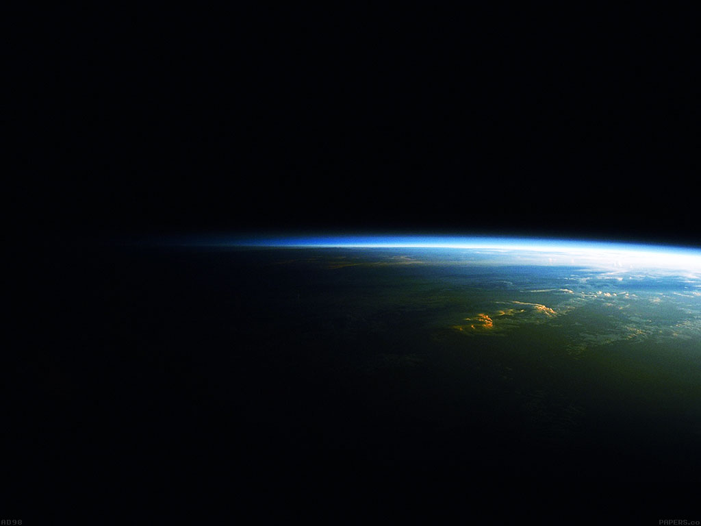 Fall Hd Wallpaper Iphone Ad98 Earth At Night Space Blue Like Papers Co