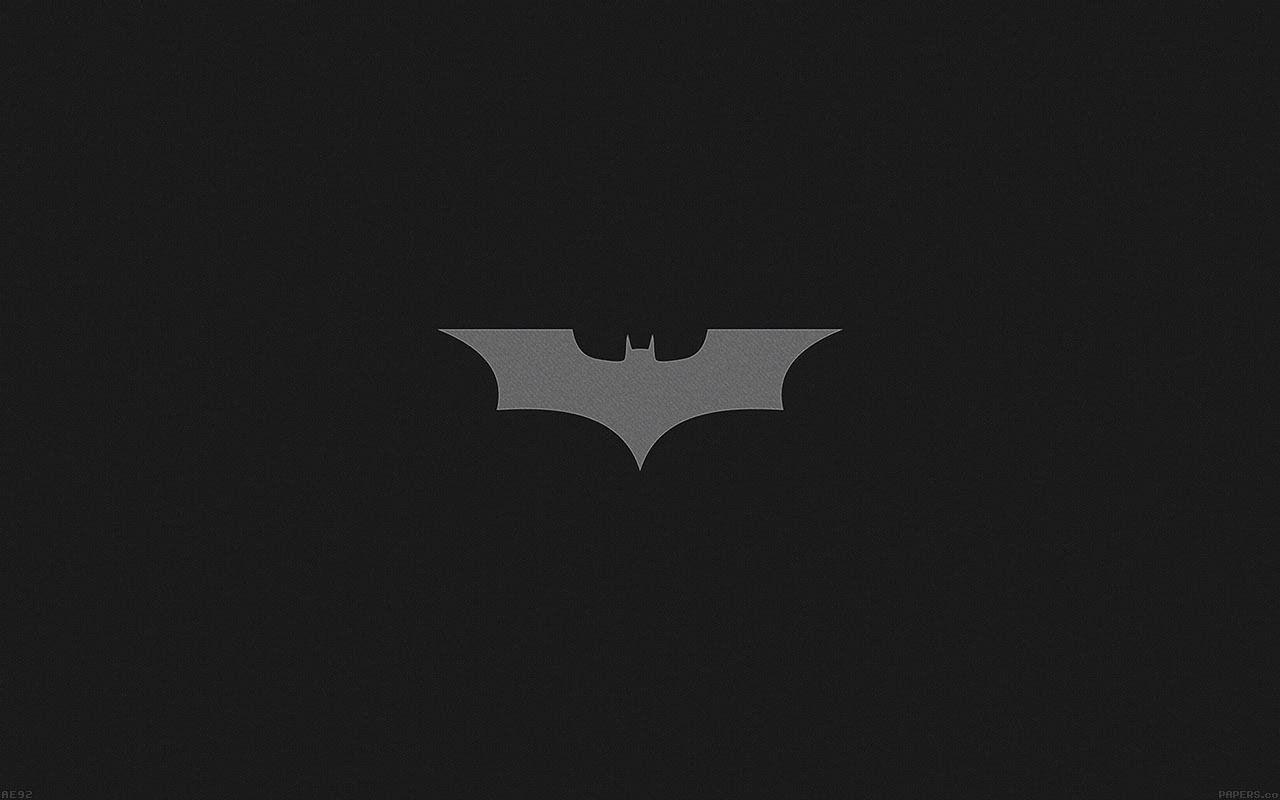 3d Snow Wallpaper For Android Ae92 Batman Dark Night Logo Simple Minimal Papers Co