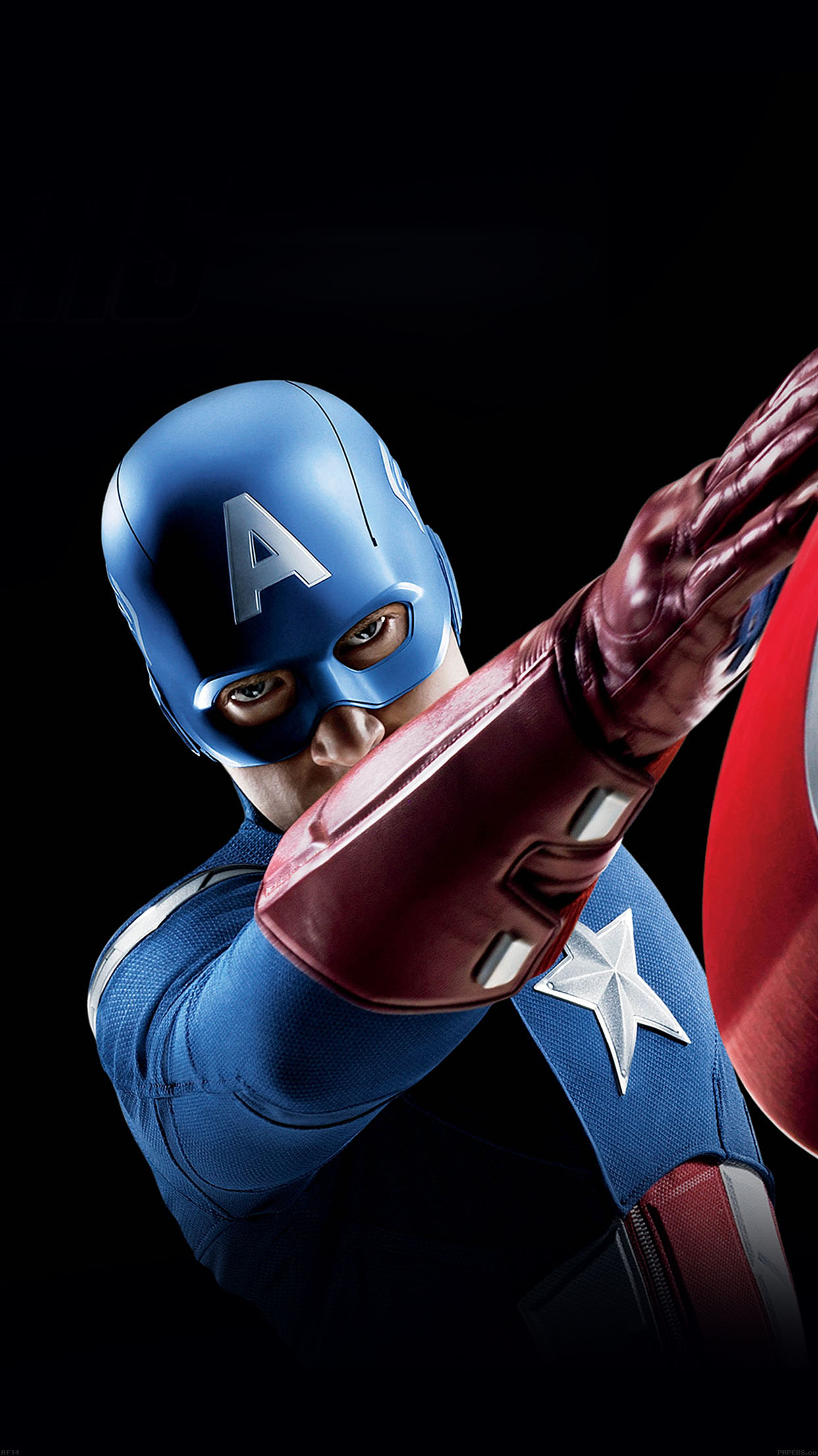 Wallpaper Iphone 6 Iron Man Af14 Avengers Captain America Illust Art Portrait Papers Co