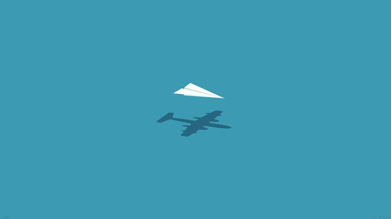 Cute Cartoon Fall Wallpaper Af22 Rc Plane Minimal Blue Art Illust Cute Papers Co