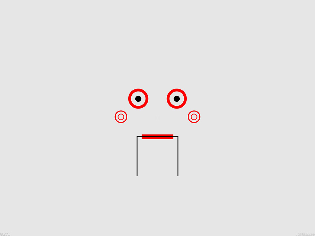 Minimalist Wallpaper Fall Af37 Saw Puppet Minimal Illustration Papers Co