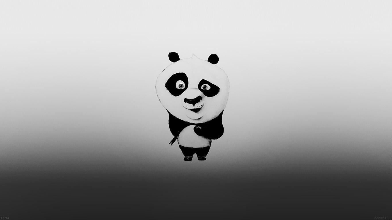 Iphone 5 Falling Snow Wallpaper Af59 Kungfu Panda Minimal Funny Cute Papers Co