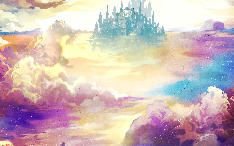 Evo 8 Hd Wallpaper Ag06 Kanehiko Fantasy Illust Watercolor Art Papers Co