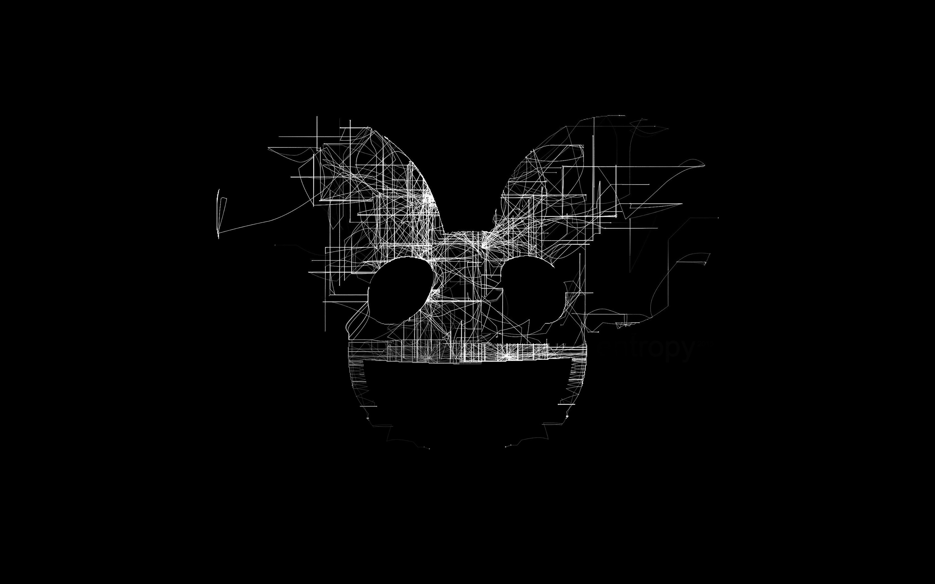 4k Fall Wallpaper For Phone Ag07 Deadmau5 Black Logo Art Music Papers Co
