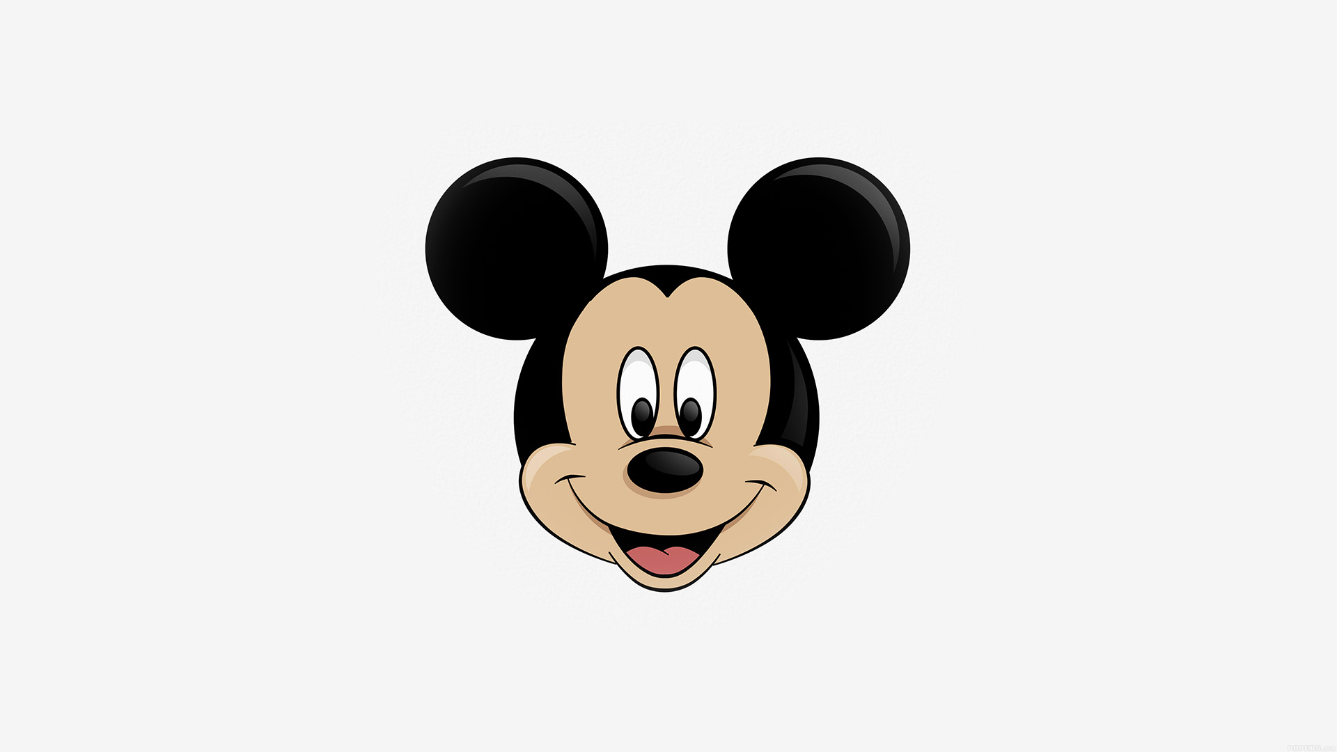 Cute Mickey Wallpapers Ag30 Mickey Mouse Logo Disney Papers Co