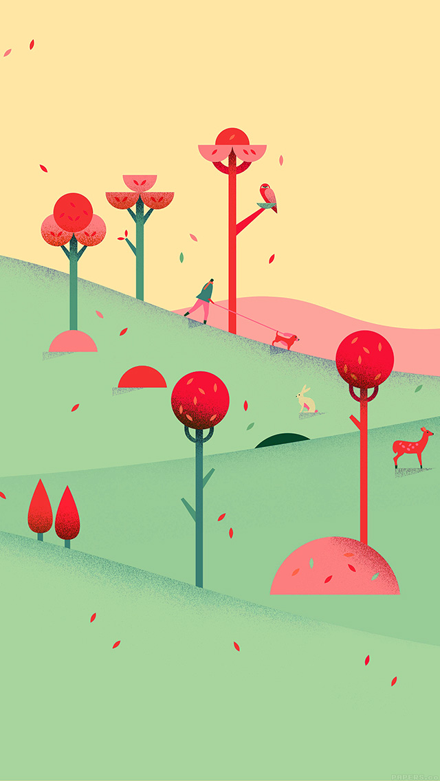 Cell Wallpaper Hd Illustration Fall Iphone 6