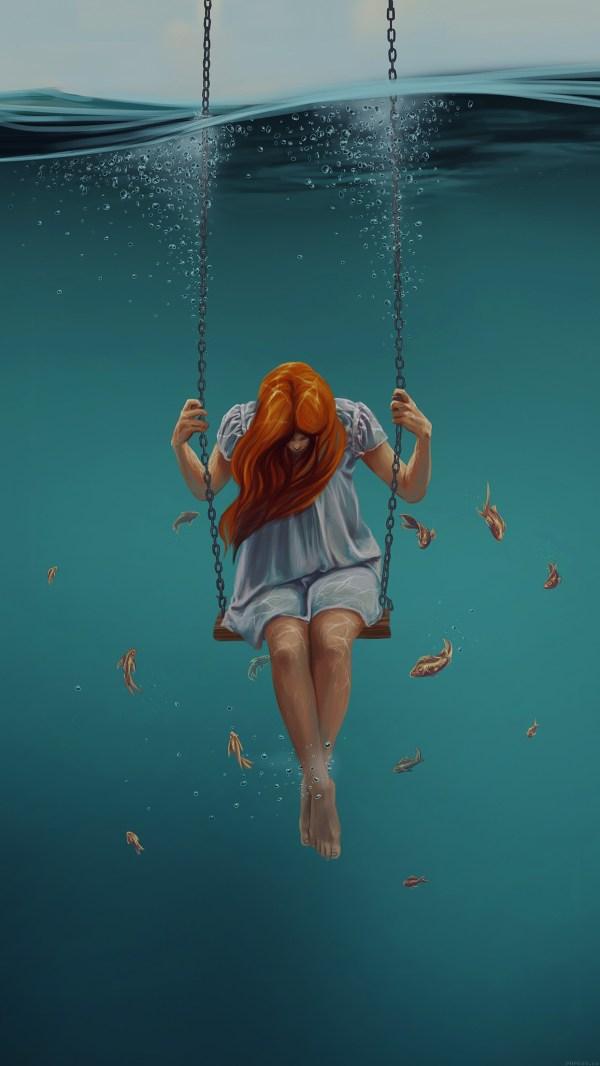 Ai92-swing-art-painting-girl-dark