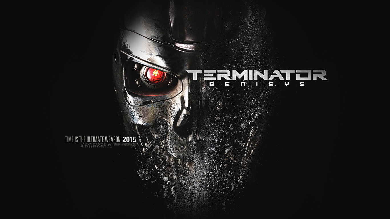 Hd Wallpaper Ipad 3 Al96 Terminator Genesis Poster Film Art Illust Dark