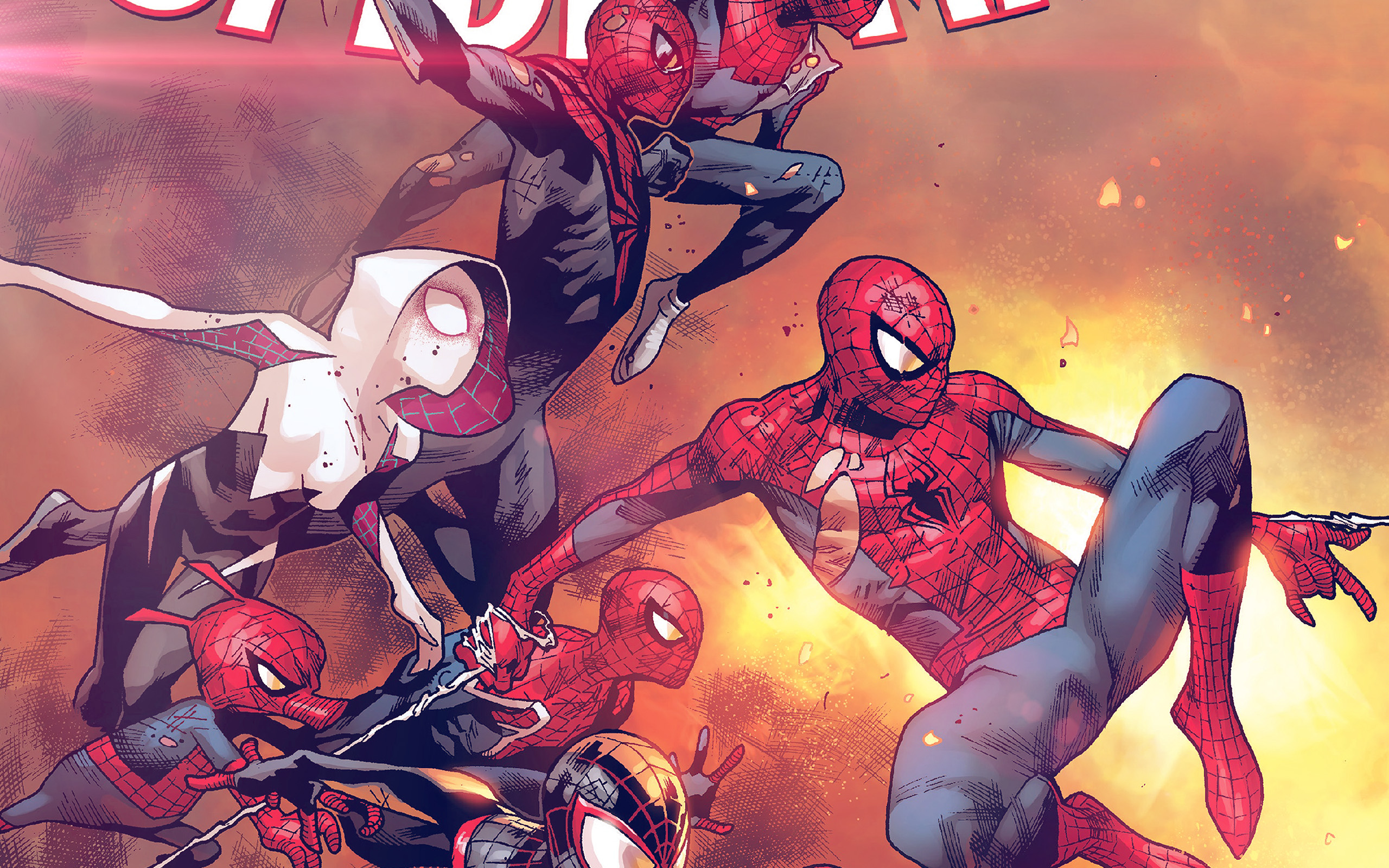 Large Hd Wallpapers For Laptop Al98 Amazing Spiderman Marvel Art Hero Film Anime Flare