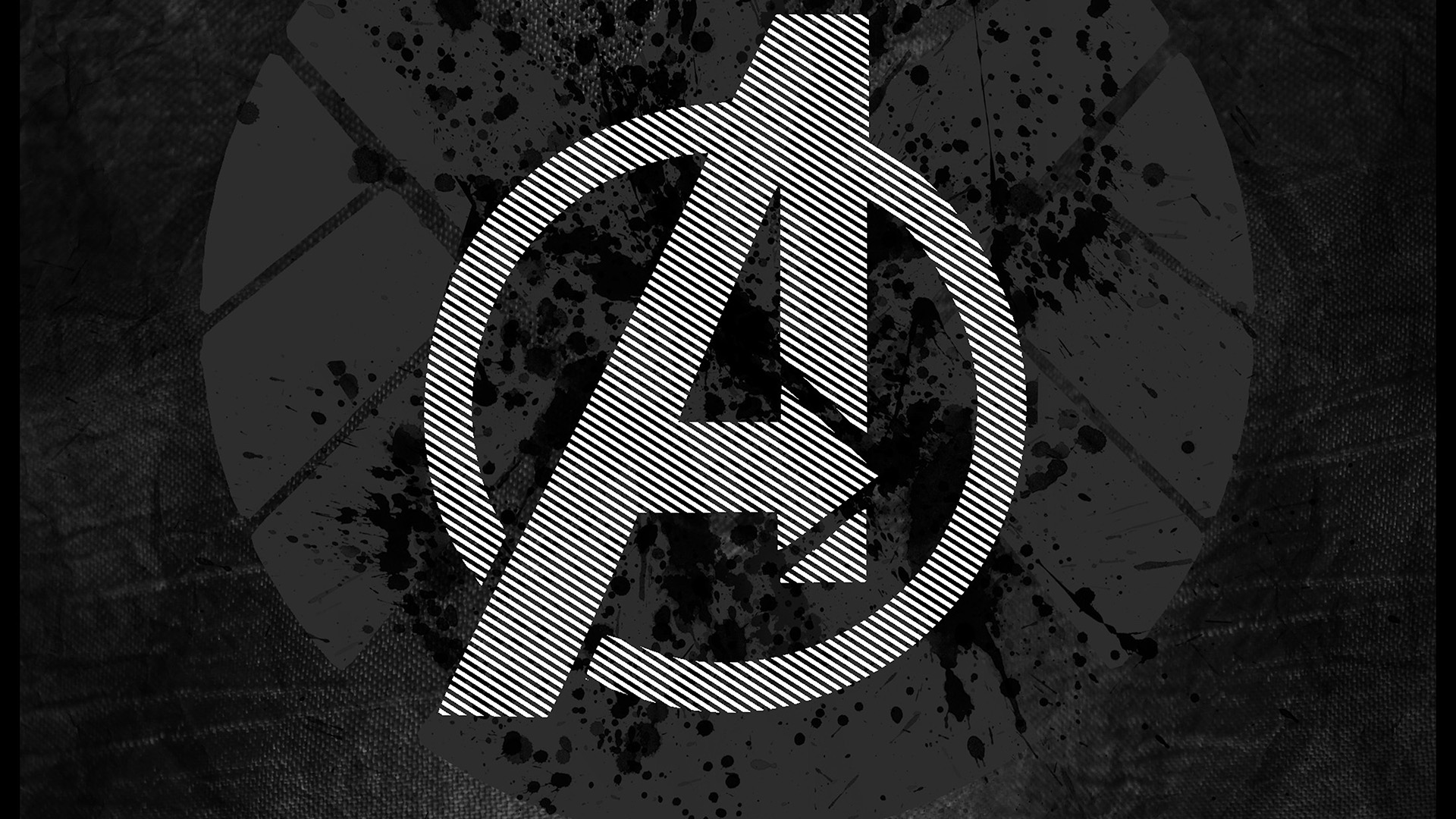 Fall Wallpaper Iphone Se Am03 Avengers Logo Art Hero Dark Papers Co