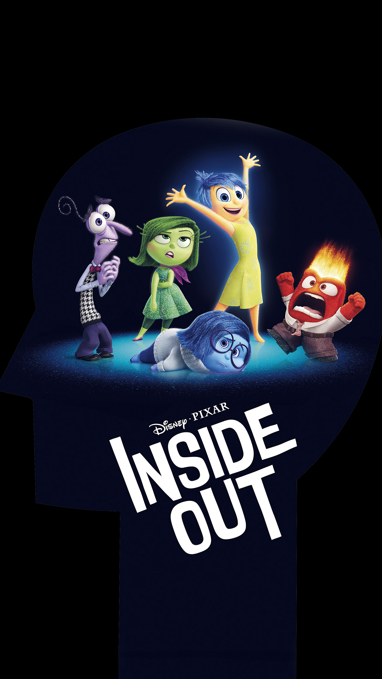 Galaxy S5 Fall Wallpaper An00 Inside Out Disney Pixar Animation Art Illust Papers Co