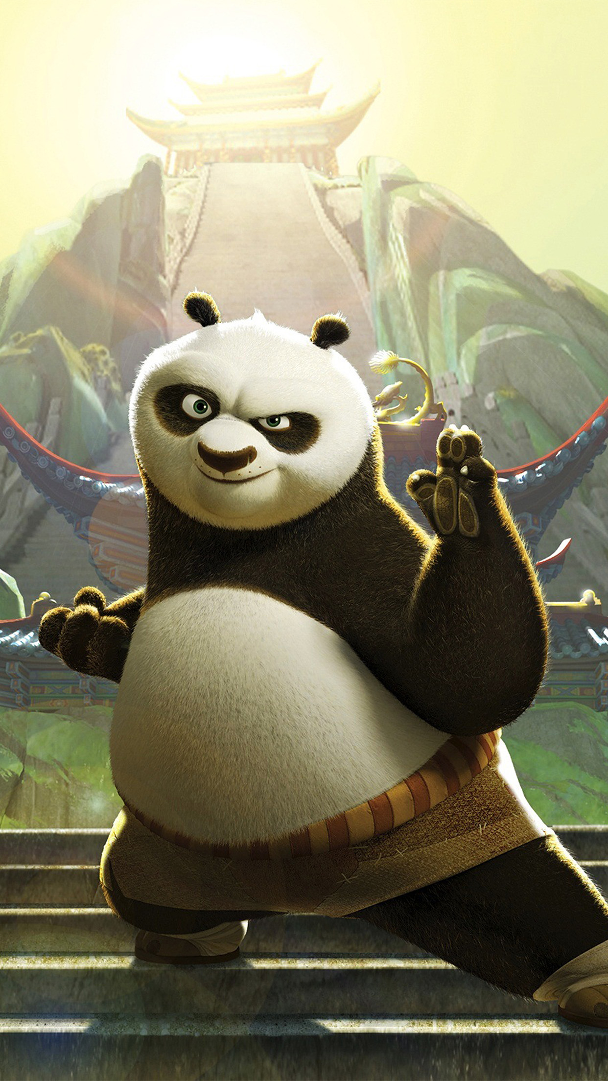 Cute Wallpaper For Android Phone An47 Kungfu Panda Dreamworks Animation Art Cute Papers Co
