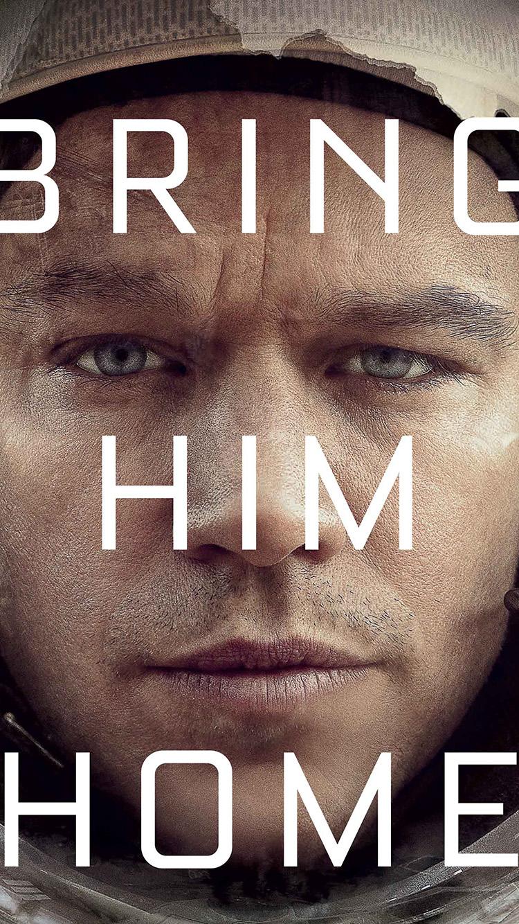 Iphone Wallpaper Hd Anime An54 Bring Him Home Martian Film Matt Damon Papers Co