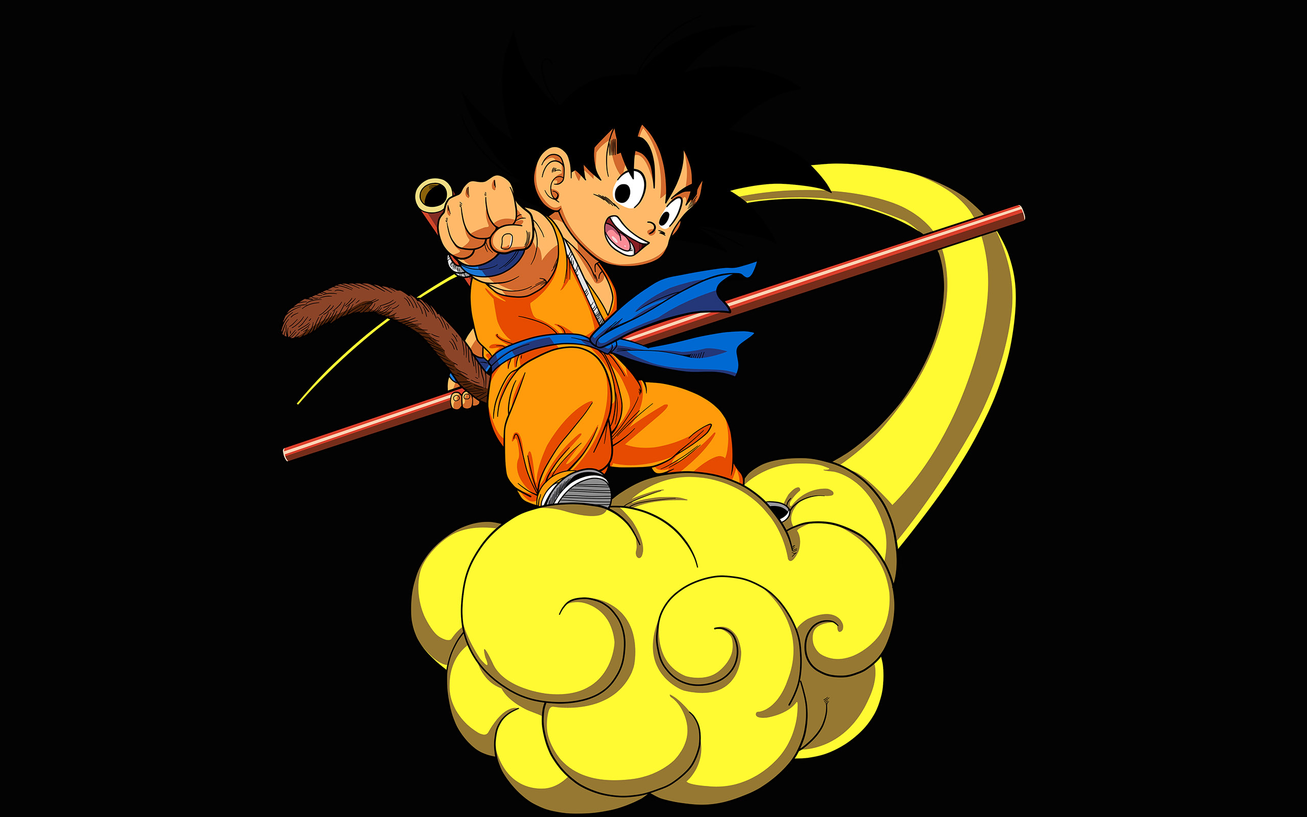 Boxing Iphone Wallpaper Ap05 Dragonball Goku Cloud Fly Anime Art Illust Papers Co