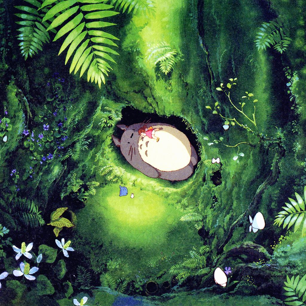 Ghibli Wallpaper Iphone Ipad Retina