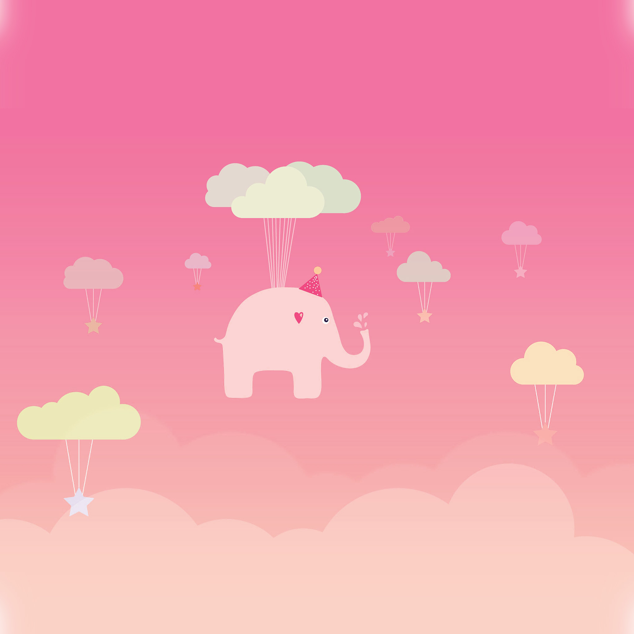 Cute Elephant Cartoon Wallpapers Wallpapers